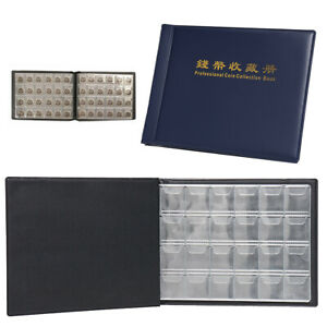 240-Coin-Pockets-Album-Pages-Storage-Holders-Binder-Folder-Money-Book-Collecting