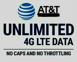UNIQUE-AT-amp-T-Unlimited-4G-LTE-Data-Account-ATT-20-month-YOU-OWN-IT