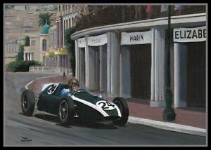 Painting-1959-Monaco-Grand-Prix-by-Toon-Nagtegaal