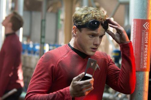 """Playmates Star Trek Warp Collection 2009 Cadet Chekov Anton Yelchin 6/"""" Figure"""