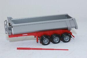 embalaje original 2-achs. 1:87: carnehl-rundmulden-hummer rojo-nuevo Herpa 076036-002