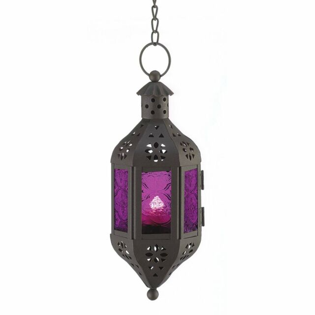 Hanging Candle Lantern Mystical Moroccan Style