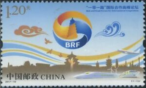 China-2017-10-The-Belt-and-Road-Summit-in-Beijing-MNH