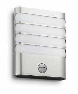 Philips-LED-Wandleuchte-Aussenleuchte-Aussenlampe-mit-Bewegungsmelder-1727447LED