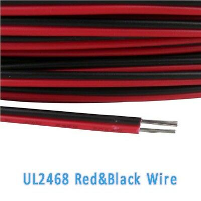 22AWG~28AWG Stranded Red/&Black Electronic UL 2468 PVC Flat Ribbon Wire Conductor