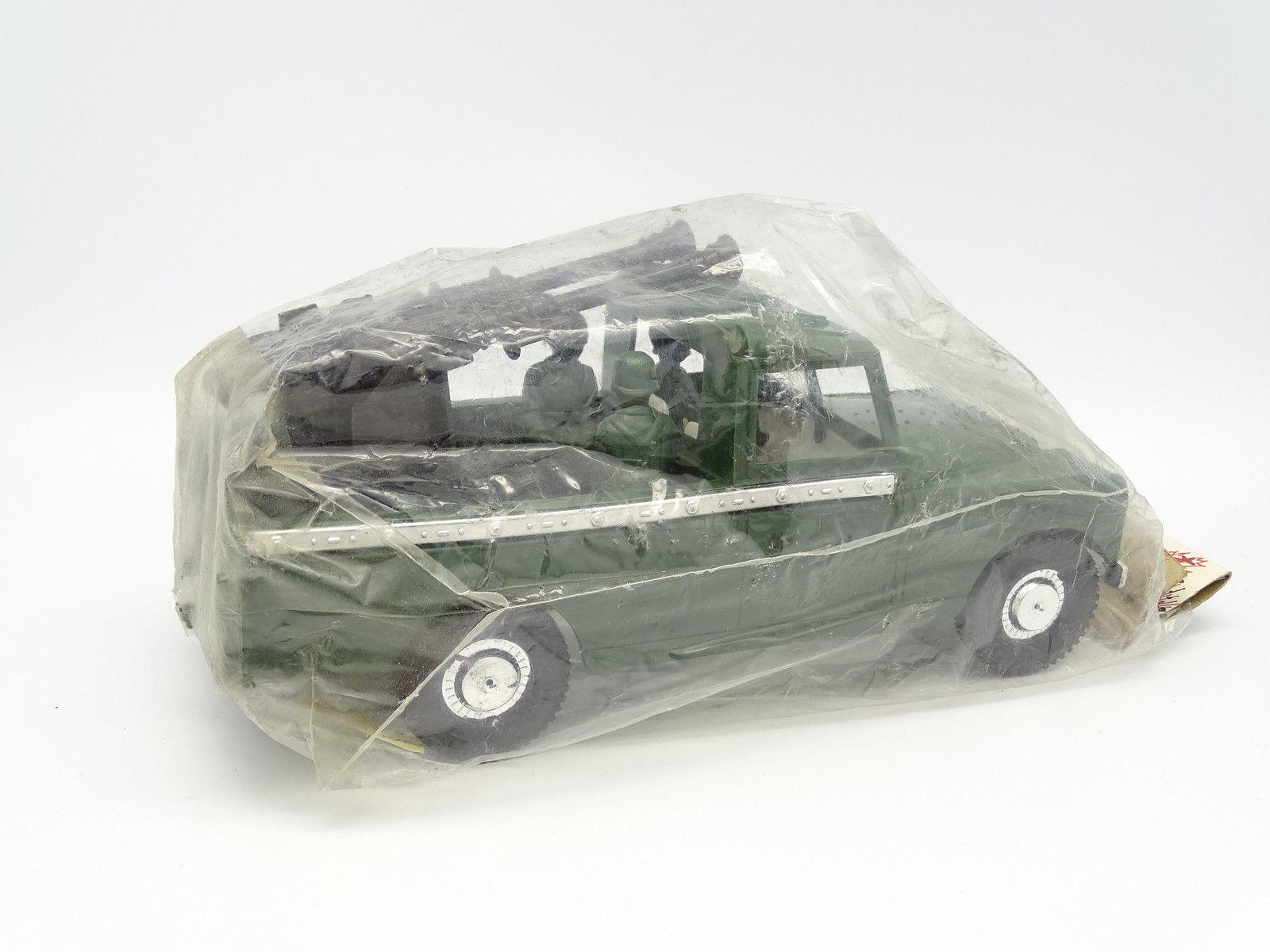 Karpan Jouet de Bazar Plastique 20cm - - - Land Rover 109 Militaire f58e07