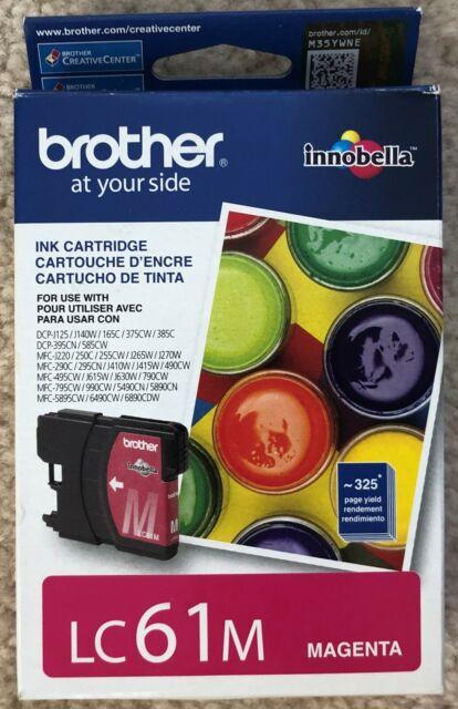 Brother LC61M Magenta Ink Cartridge Innobella