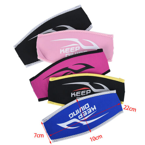 Details about  /Diving Mask Head Strap Cover Mask Padded Protect Long Hair Band Strap-Wrapp/_sFEH