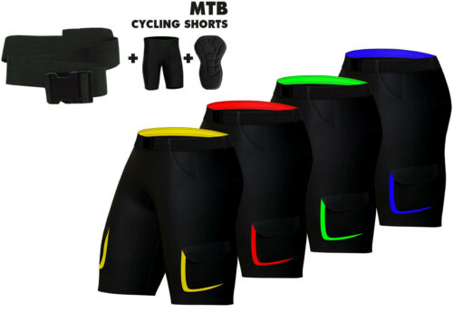 Offre spéciale MTB Cyclisme court Off Road Cycle Rembourré Doublure Intérieure Short