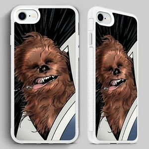 new product 92dfd 0e856 Details about Chewbacca Star Wars Wookie Chewie QUALITY PHONE CASE for  iPHONE 4 5 6 7 8 X