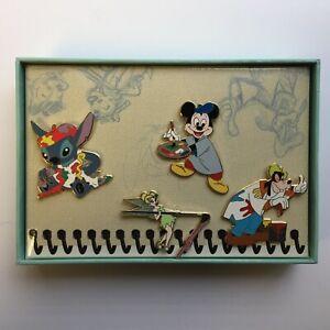 DisneyShopping-com-4-Pc-World-of-Disney-Art-Box-Mystery-Pin-Set-Disney-Pin-67806