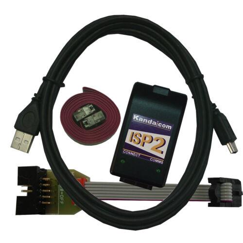 UK made AVR ISP USB For AVR Microcontroller AVRISP USB programmer