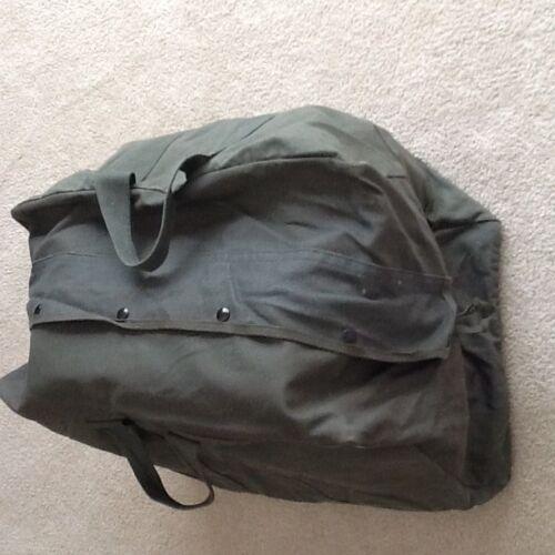 Military Issue USAF Air Force Flyers Aviator Pilot Parachute Flight Kit Bag Sage