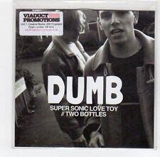 (FE259) Dumb, Super Sonic Love Toy / Two Bottles - 2013 DJ CD
