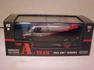 The-A-Team-TV-Show-1983-GMC-Vandura-Van-Diecast-Car-1-43-Greenlight-5-inch-86515