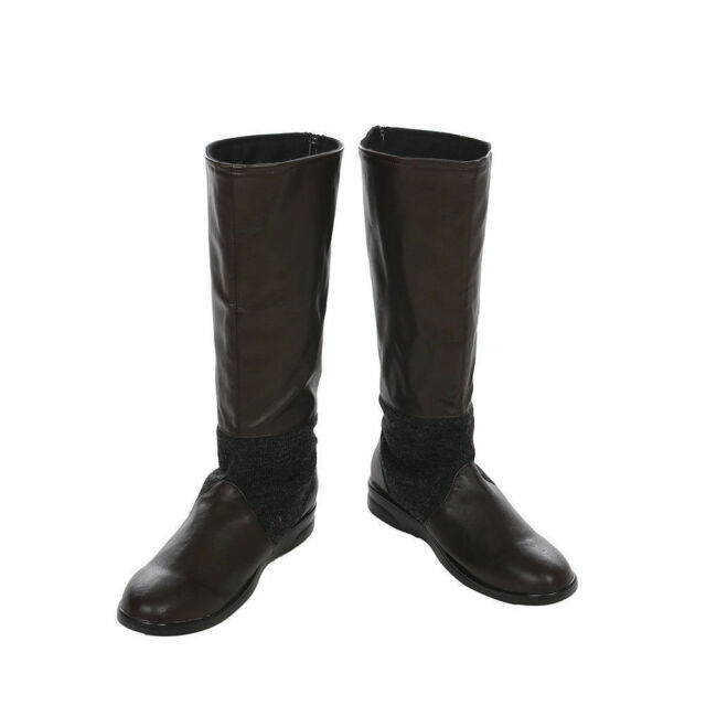 New! Danganronpa  PU Cosplay shoes boots Custom-made Unisex