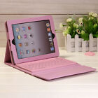 Leather Case Cover With Bluetooth Keyboard Stand For iPad Mini 2 3 4 iPad Air 2