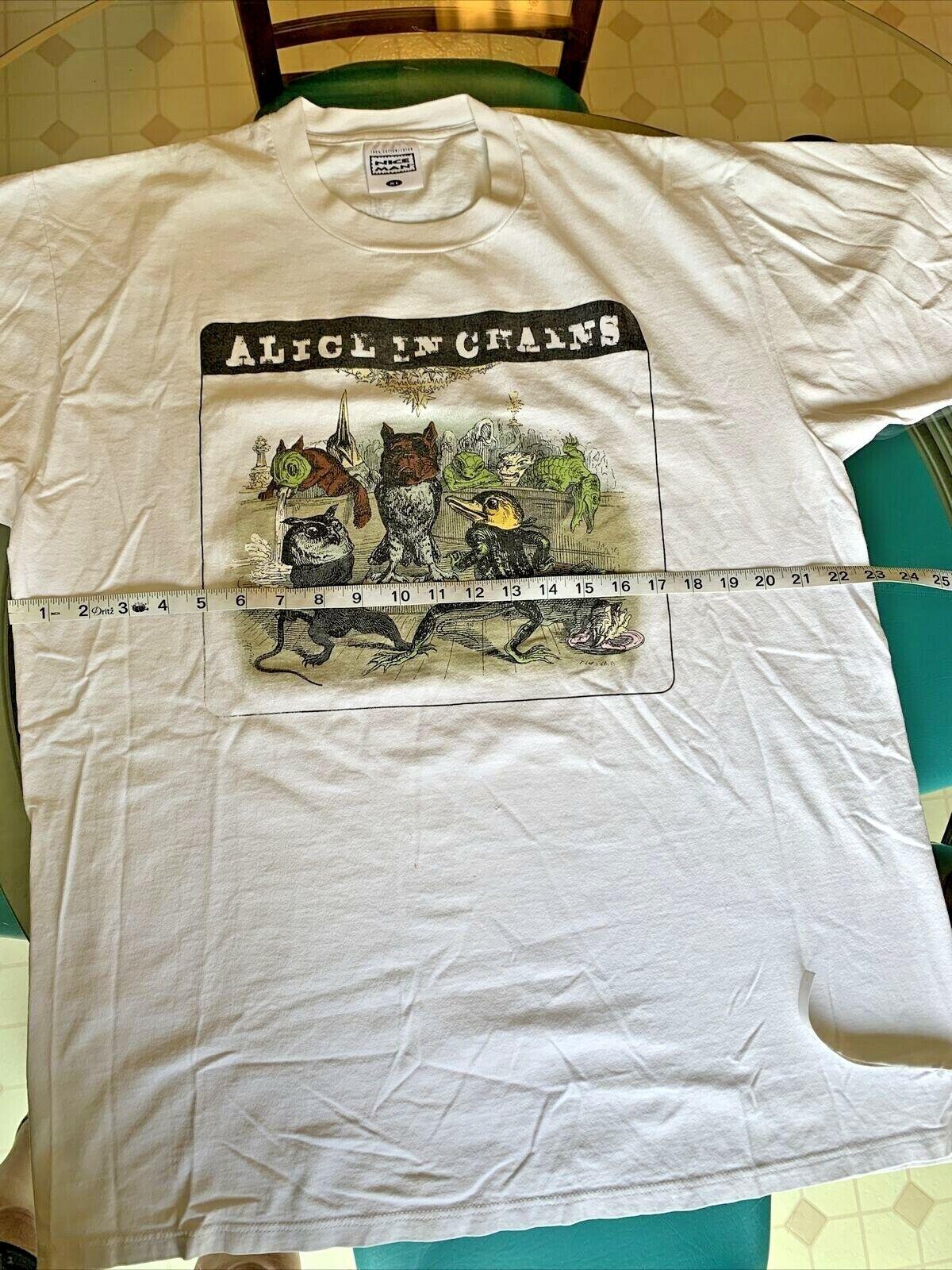 Vintage Alice In Chains J.J. Granville T Shirt Ra… - image 8