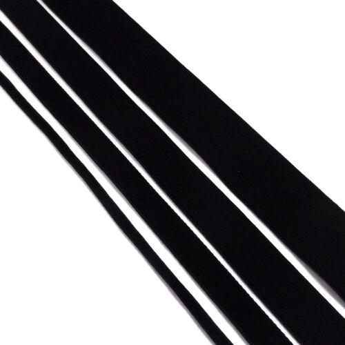 Black Velvet Ribbon Great Quality Ribbon 3mm 10mm 15mm 25mm Rolls /& Metres