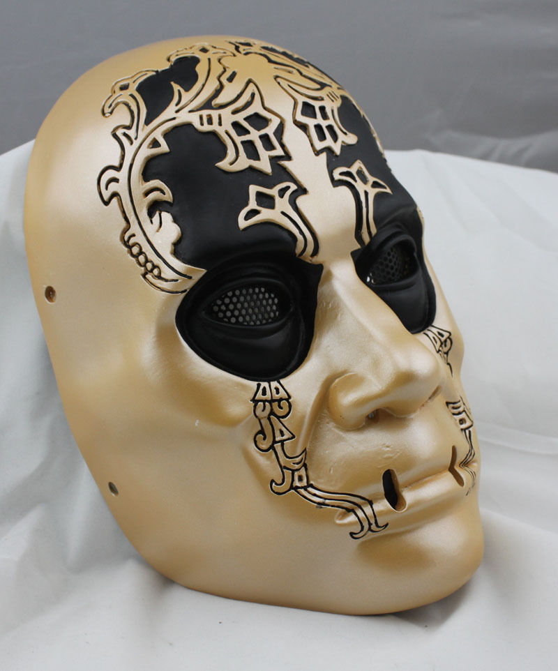 NEW Fiber Resin Mesh Eye Airsoft Paintball Mask Harry Potter Death Eaters M771