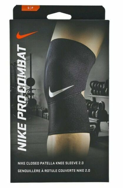 Propuesta temperamento Saca la aseguranza  Nike Pro Closed Patella Knee Sleeve 2.0 Size XL Black NMS41010XL for sale  online | eBay