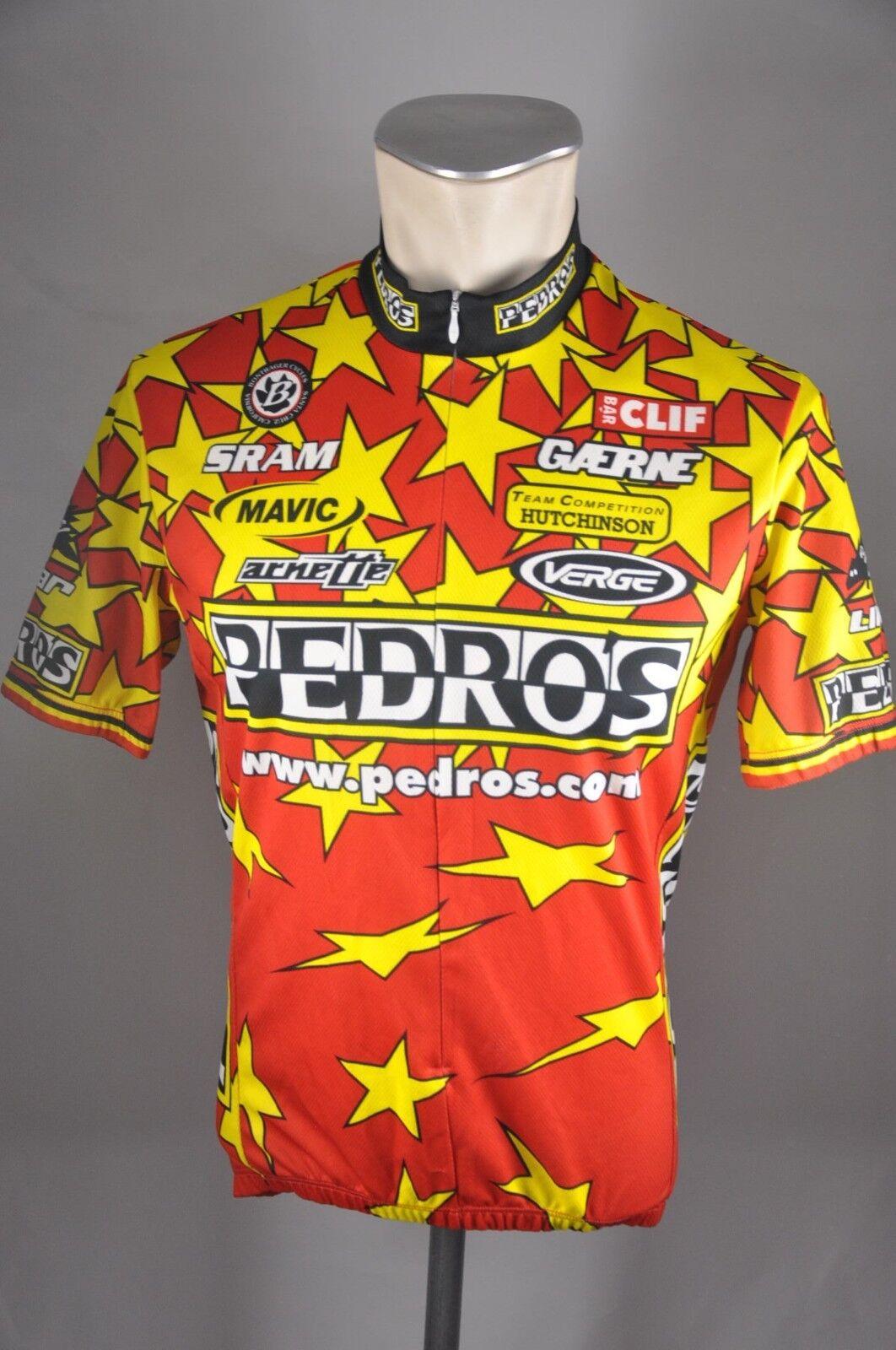 Pedros Verge Trikot Gr. M 52cm bike maglia cycling jersey L2
