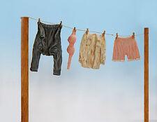 Plus Model Clothing Unpainted/Clothing Unpainted Diorama 1:3 5 Item EL018