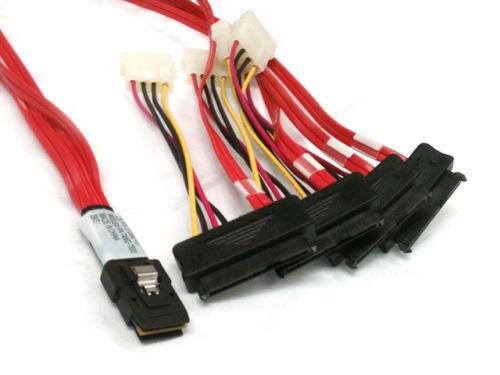 LSI 3Ware Mini SAS cable SFF-8087 to SFF-8482 power x4 SAS 29pin