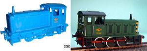 Dapol C060 - 0-6-0 Drewery Shunter - None Working 00 Gauge Plastic Kit -1st Post