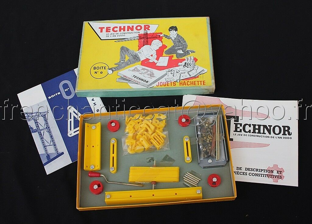 E580 Precious aether Technologies 1958, constructor Hachette NF mecenano 2000