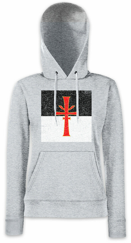The Cruciform Sword Damen Hoodie Kapuzenpullover Indiana the Last Jones Jones Jones Crusade   In hohem Grade geschätzt und weit vertrautes herein und heraus  742e68