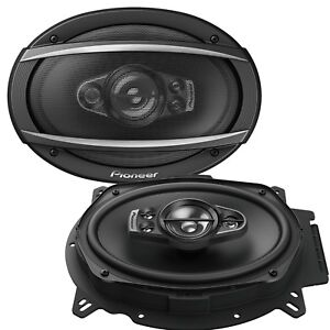Pioneer-TS-A6970F-6x9-034-inch-5-Way-Car-Speakers-Rear-Shelf-1200Watts-200RMS-SET