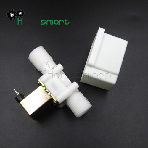 "1//2/"" N//C Magnetic Electric Solenoid Valve Water Air Inlet Switch 12//24//220V"