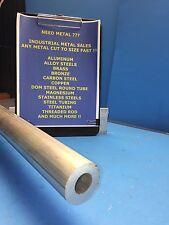 """6061 Aluminum Round Tube 2"""" OD x 1"""" ID x 12""""-Long x 1/2"""" Wall -->2"""" OD x .500"""" W"""