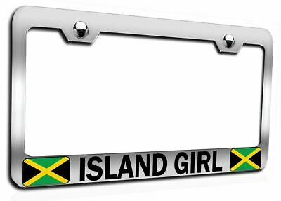 UNRULY Jamaican Steel License Plate Frame