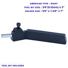 38 Hss Tool Bit Holder American Type Lathe Turning Right 58 X 1 38 Inch