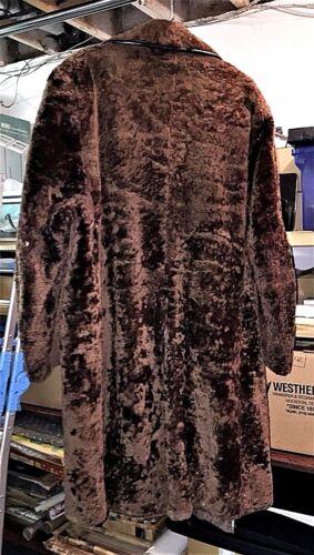 S 4 taille brun d'agneau en Manteau chocolat taille 3 fourrure femme pour wA61TxqP