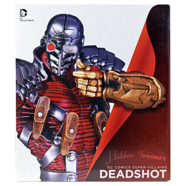 DC Comics Jim Lee DEADSHOT Bust Statue