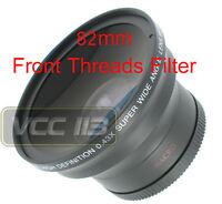 58mm Wide Angle Lens .43x For Canon Rebel 760d 750d 700d 100d 1200d T6s T6i T5i