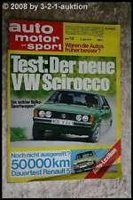AMS Auto Motor Sport 12/74 Toyota Celica GT VW Scirocco TS Alvis