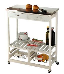 Details zu Küchenrollwagen, Küchenmöbel, Beistelltisch, Küche, Ablage
