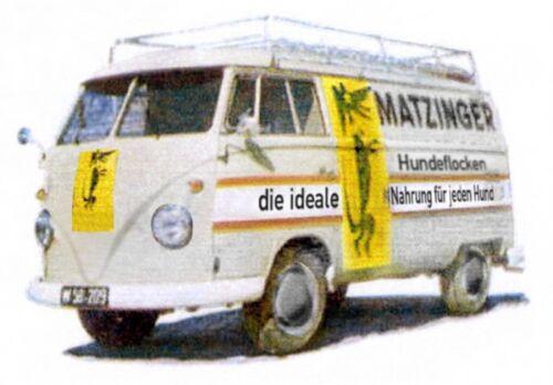 1/87 Brekina # 1702 VW T1 b K Matzinger Hundeflocken A 32664
