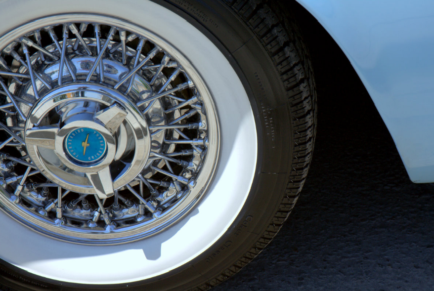 "ATLAS White Walls 16/"" Motorcycle Portawall Tire insert trim set Flapper Sidewall"