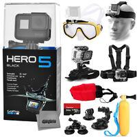 Gopro Hero5 Hero 5 Black Edition + 64gb + Diving Mask + Basic Swimming Bundle