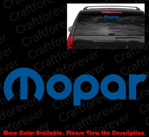 MOPAR LOGO Vinyl Decal Car Window//Bumper Sticker Jeep Ram Dodge Chrysler RC007