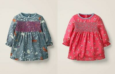NEW Next Girls Ditsy Floral Dress Age 6 9 12 Months Hotchpotch Jersey Cotton NWT