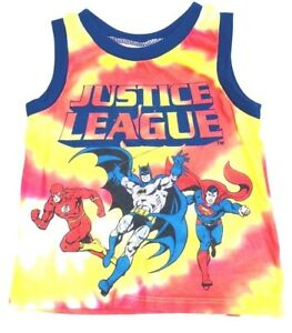 59b7d992 Justice League Toddler Boys Graphic Athletic Tank Top Sleeveless Tee ...