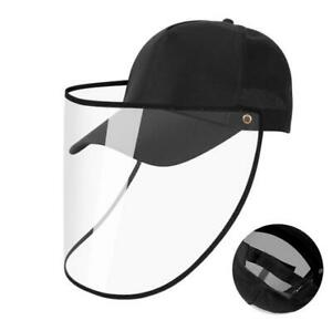 Baseball Cap protective hat for kid Face Shield Detachable Hat Anti Spitting