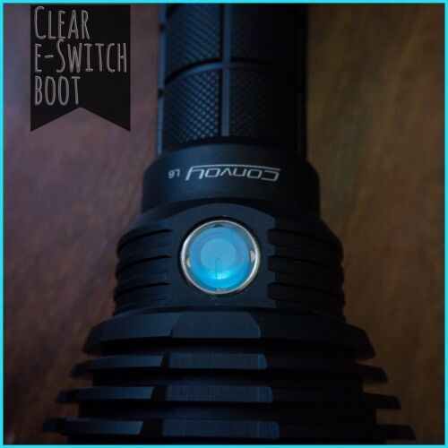 Convoy L6 M3 Clear Silicon LED E-switch Boot