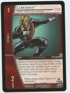 UD Marvel VS System Thanos MNB-100 VSP-003 Foil Holo Promo Card NM Unplayed